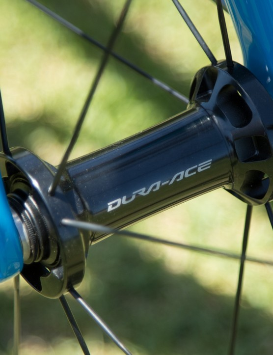 Dura-Ace hubs are known to spin extremely well