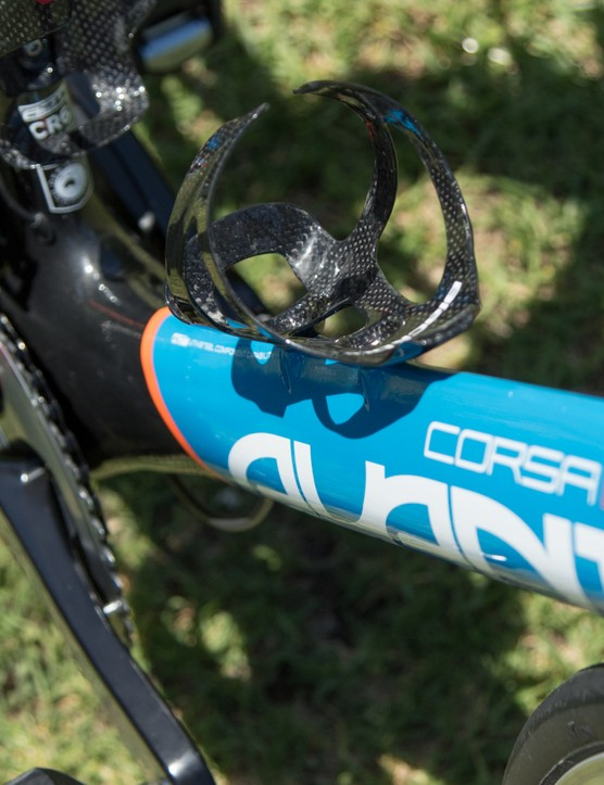 Blackburn supplies carbon bottle cages for the team