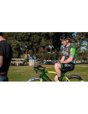Pro mountain biker Sam Pilgrim features in the new episode