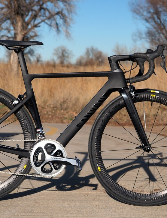 Canyon gave its aero road platform a thorough overall for this year