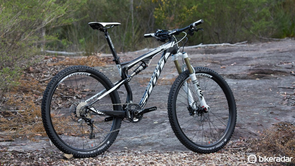 8dbe21a86f2 The 2015 Scott Spark 740 is equally as capable in a marathon race as it is