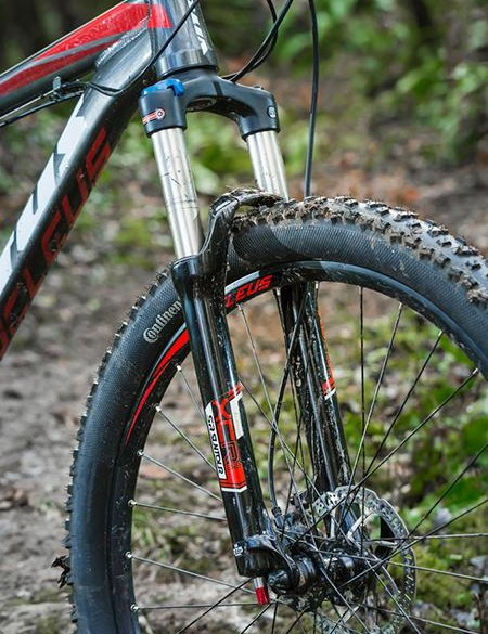 The Suntour XCR fork is well worth the extra outlay for this line-topping Nucleus