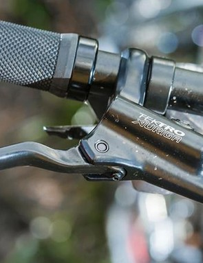 Shimano's Altus handles shifting duties