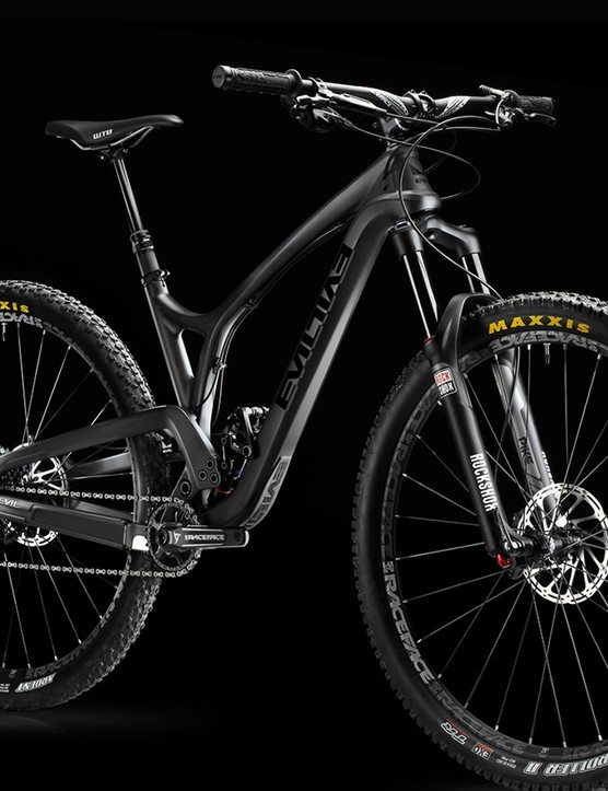 The Following will be available this spring as a frame with shock as with SRAM X1 and XO1 built kits