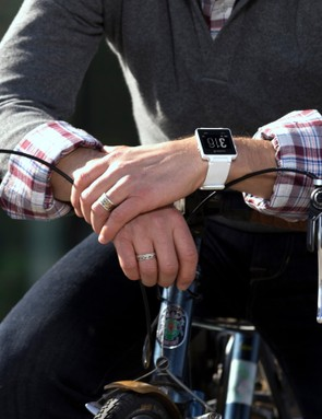 Garmin is hoping the Vivoactive will be embraced by cyclists - and worn all day long