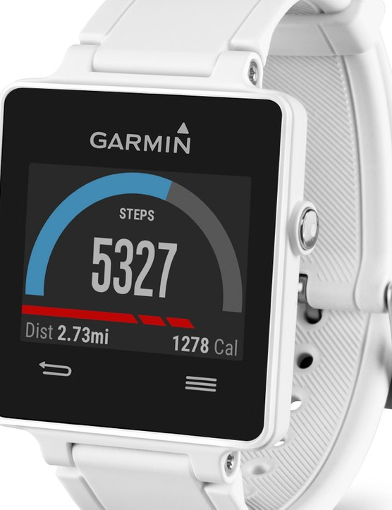 Like many of its competitors, the Vivoactive has a daily activity tracker to set goals for number of steps, and track them throughout the day