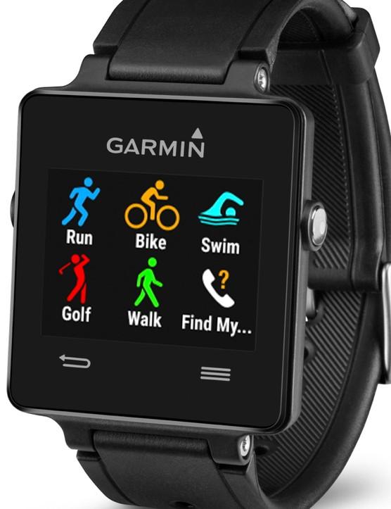 The Garmin Vivoactive: Running, cycling, swimming and... golf?