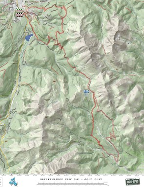 This is but one stage of the Breck Epic, a six-day mountain bike stage race held in the high mountains of Colorado