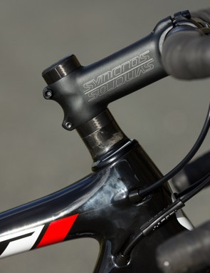 Our 52cm sample featured a generous stack of headset spacers for handlebar height adjustment