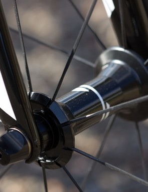 DT Swiss makes the wheels for Syncros. The sealed-bearing hubs and spokes are always high quality
