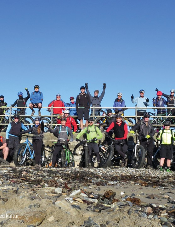 What do you call a group of fatbikers? Actually no, don't answer that