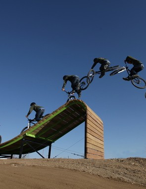The Whale Tail at Valmont Bike Park. Just... have... to commit....