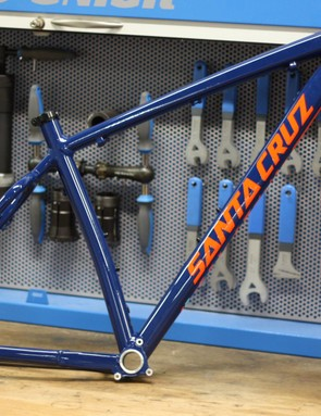 The Santa Cruz Chameleon frame is an old classic