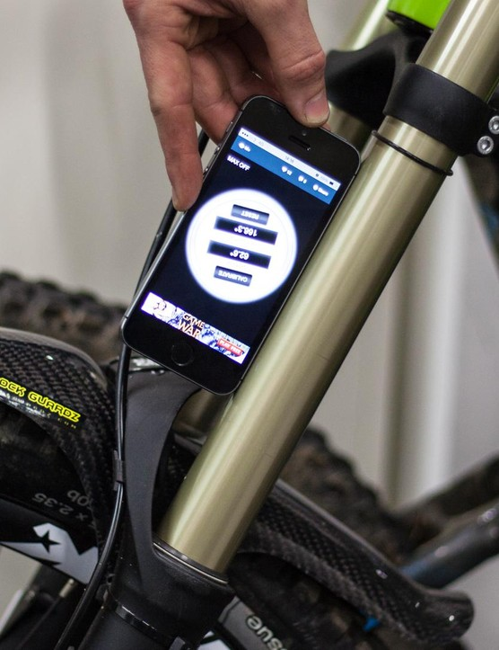 Angle checking apps are free and readily available and can be used to verify the geometry of your bike