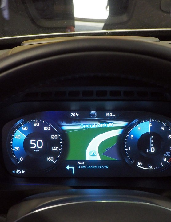 Whereas the rider's helmet would provide a warning via LEDs and vibration pads, the driver of the connected vehicle would get some sort of similar alert via the dashboard or seat - and in the event of an impending collision, the vehicle would theoretically even stop itself