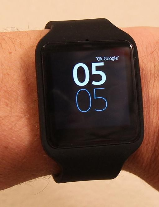 The Sony SmartWatch 3 has some native capabilities, like GPS, but relies on a paired phone for the heavy lifting