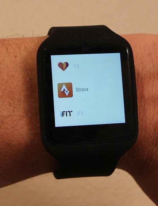 One Android app that works without a paired phone is iFit Outside