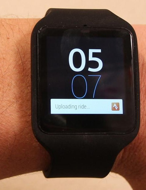 Notifications from cycling apps, social media, email or your calendars can be set to pop up on the Sony SmartWatch 3