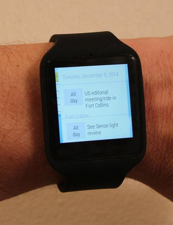 If looking at your smartphone for notifications is too laborious, you can get those same prompts on the Sony SmartWatch 3
