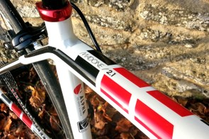 There it is – proof that you own a Madone (sort of)