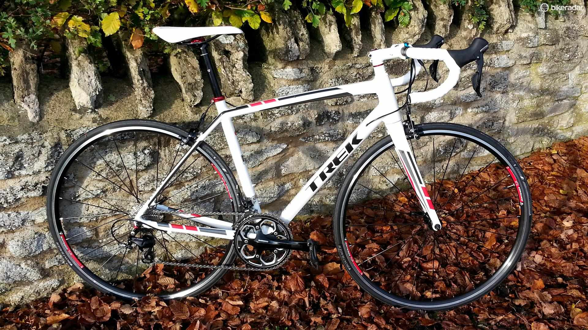 The Trek Madone 2.1 is the cheapest Madone on the market
