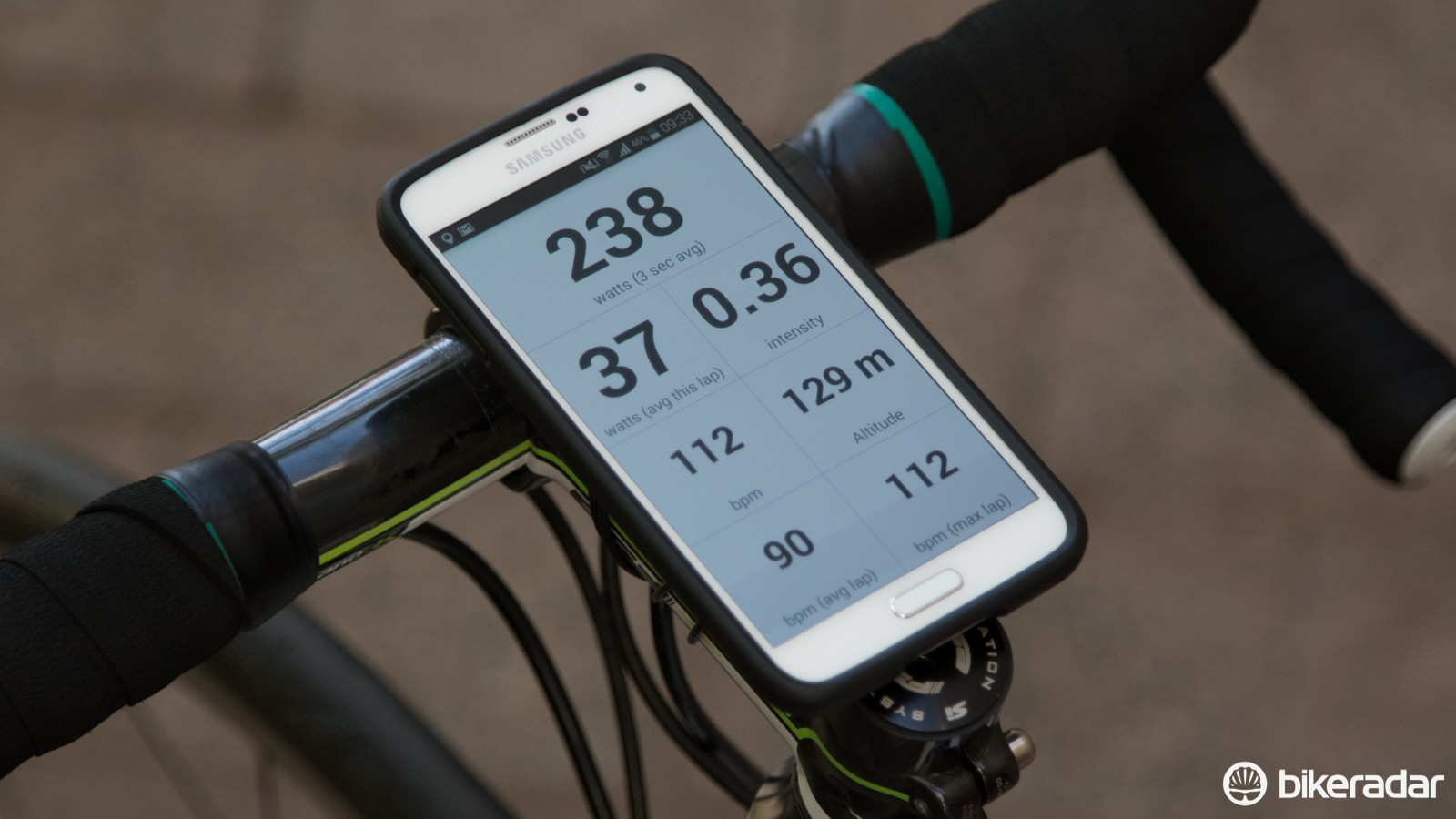The Today's Plan app can handily turn your smartphone into a bike computer