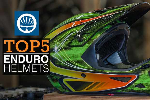 Top five full face helmets for enduro racing