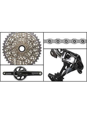 SRAM XX1 Black groupset