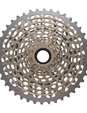 The cassette isn't going black, that would confuse things with SRAM's lesser X01 and X1 groups