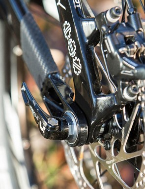 Shimano Deore kit is workmanlike but performed admirably under testing