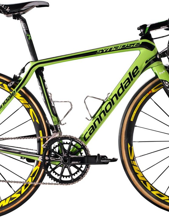 The Synapse Hi-Mod is the other road option, and will mainly be used for the cobbled Classics