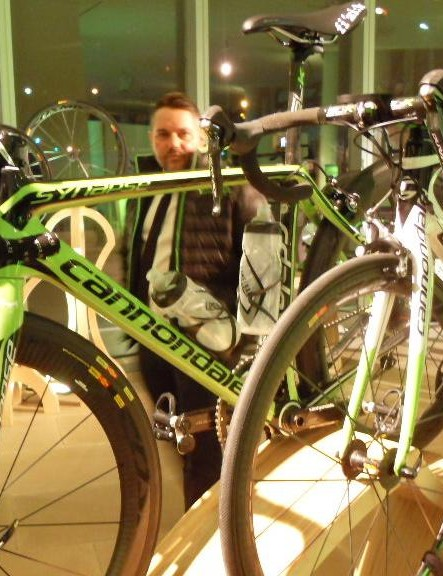 Cannondale-Garmin riders will have the choice between using the SuperSix EVO and the Synapse