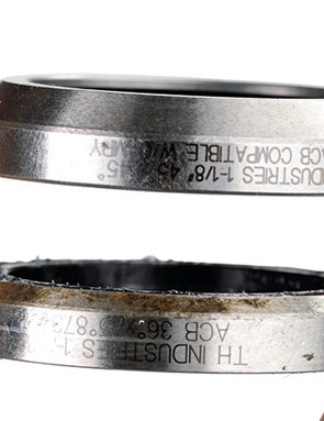 A little grease goes a long way on those sealed headset bearings. Neglecting them will mean the headache of trying to find a replacement — not always the simplest task