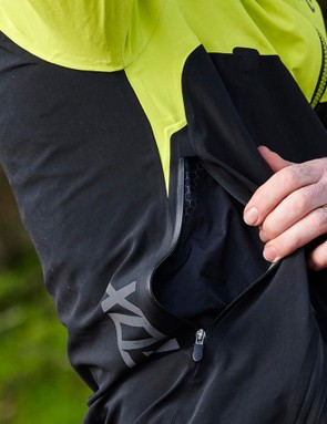 Vents provide some limited heat relief, but this is really a jacket for cold days