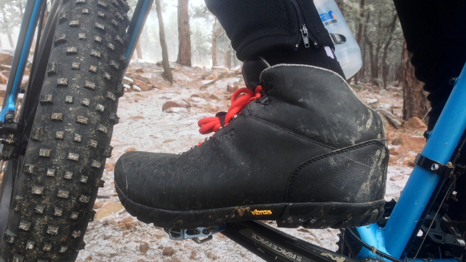 We found the boots to run slightly small, especially through the toe box. With loft often a key factor in warmth, we'd suggest going up at least half a size