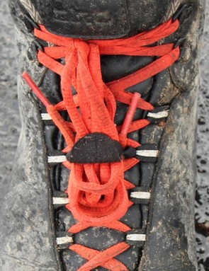 Our testers were in disagreement about the looks of the laces, but there is no denying that they get muckier and are harder to clean than Velcro or ratchets