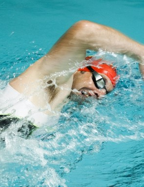 Swimming can help build core strength, which works wonders for cycling