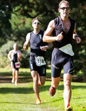 You'll have to hold back on the bike if you want to succeed on the run