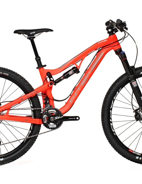 The £4,699 /  $5,650 Intense Spider 275 Expert in flat red