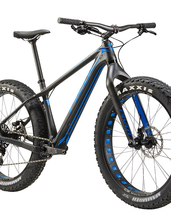 Pivot's first fat bike features a carbon frame and internal routing