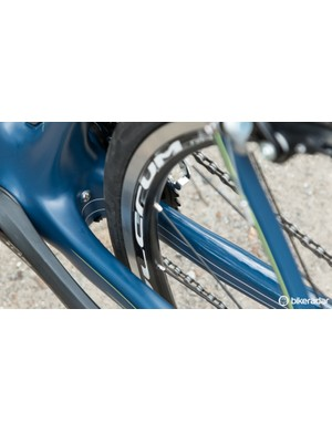 Plenty of little frame features are given, including stealthy fender mounts