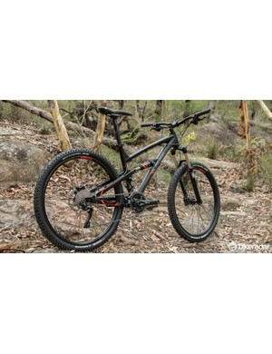2015 Polygon Siskiu D7.0 - we're keen to see just how far this budget dual-suspension can go