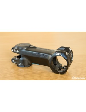 Brought out to match XTR Di2, the PRO Tharsis XC stem offers a few tricks