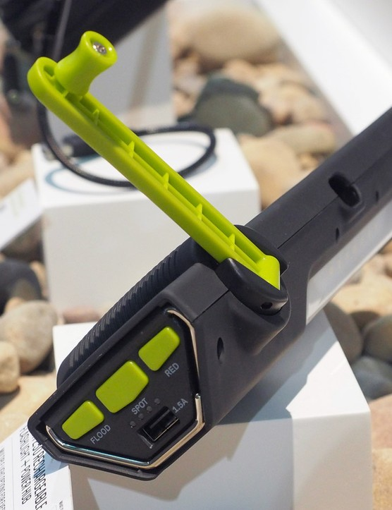 Plug your depleted portable devices into the USB port on the Goal Zero Torch 250 to bring them back to life when you're out in the wilderness. If the battery is dead and the sun isn't out, you can always resort to the built-in generator to at least power up the built-in flashlight