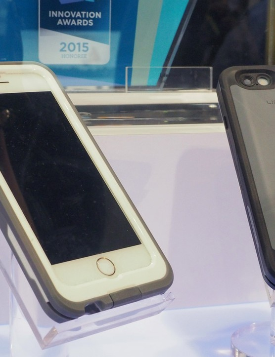 Lifeproof was yet another company at CES showing off rugged cases to help your smartphone survive your next all-day mountain bike ride