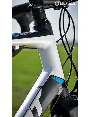 The Defy has a medium-length head tube ideal for endurance riding