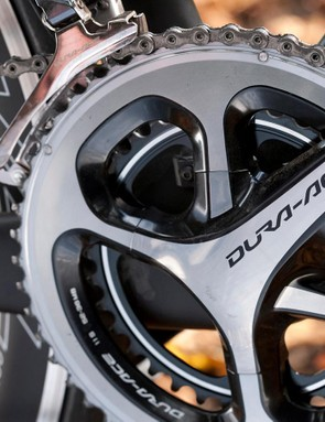 Forward motion also comes courtesy of Dura-Ace
