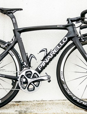 The Dogma F8 is Pinarello's top-end, top-price road bike