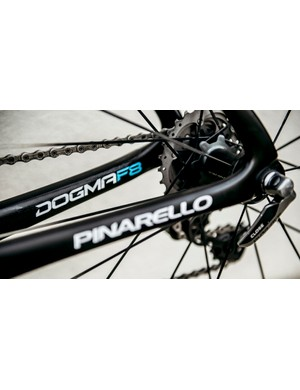 Even the Dura-Ace quick-release skewers have a slim aerodynamic design