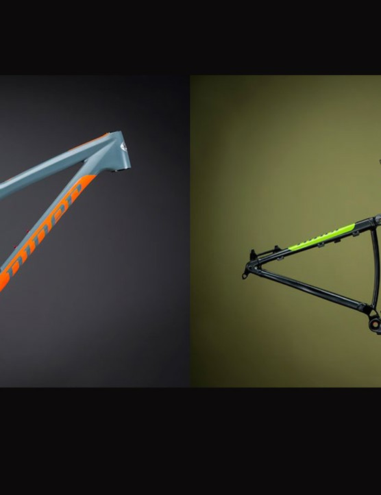 Niner will offer the RIP 9 Carbon in two colors and four complete builds